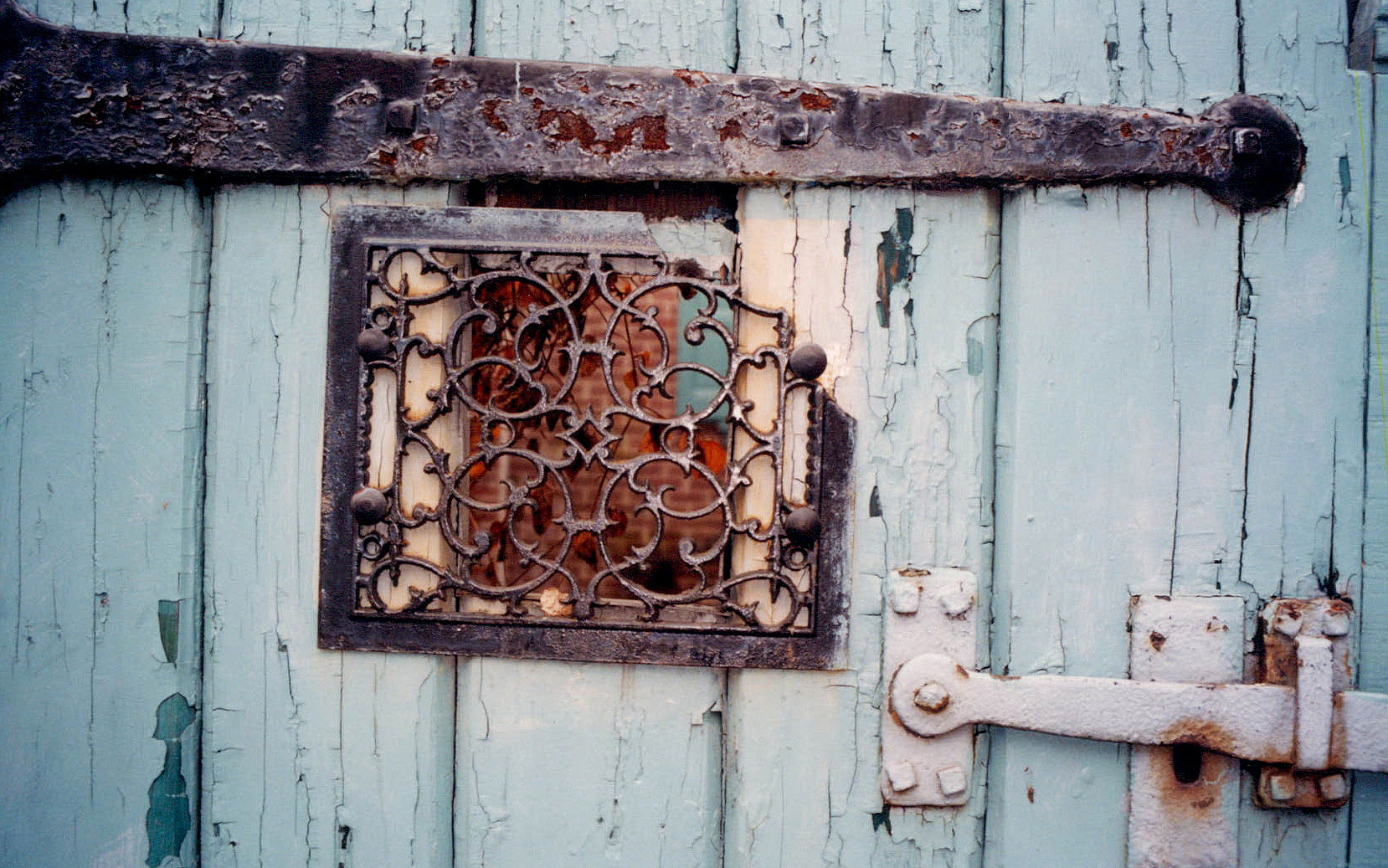 Window-In-Blue-Door